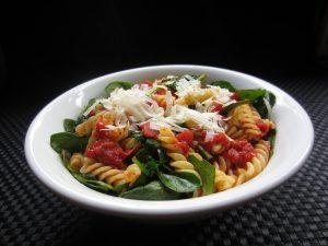 Spinach salsa pasta IMG_2089