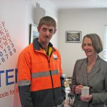 Jade meets HE the Governor of Tasmania